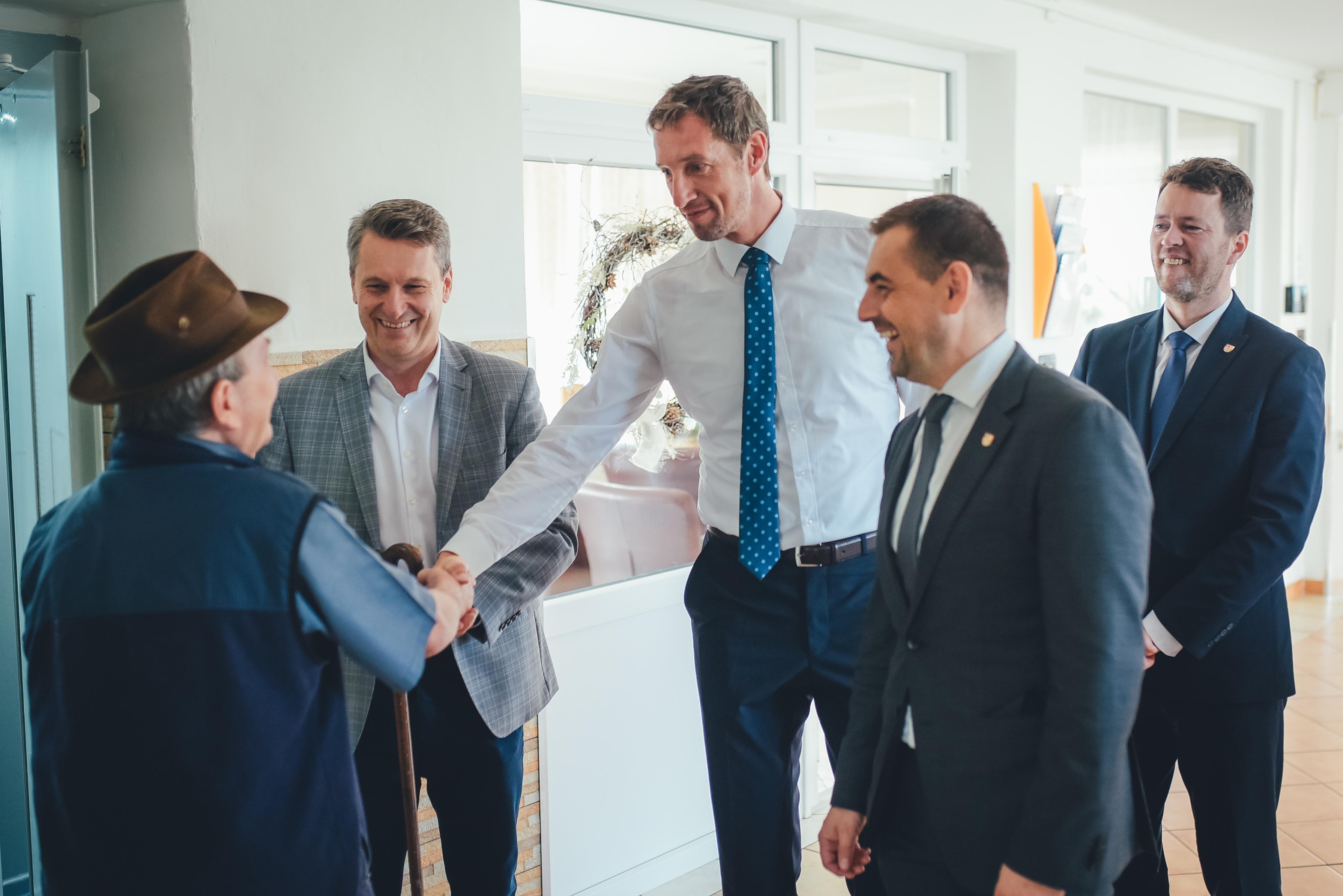Predseda PSK Milan Majerský-vzácna návšteva